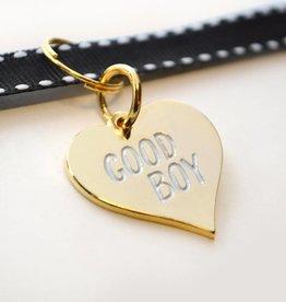 Boldfaced Goods Enamel Pet Tags Good Boy