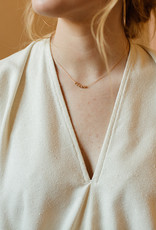 Tumble Tumble | Gold Paso Necklace