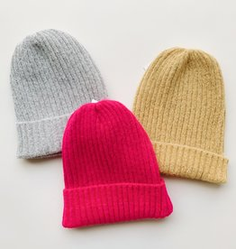 Soft Acrylic Ribbed Beanies