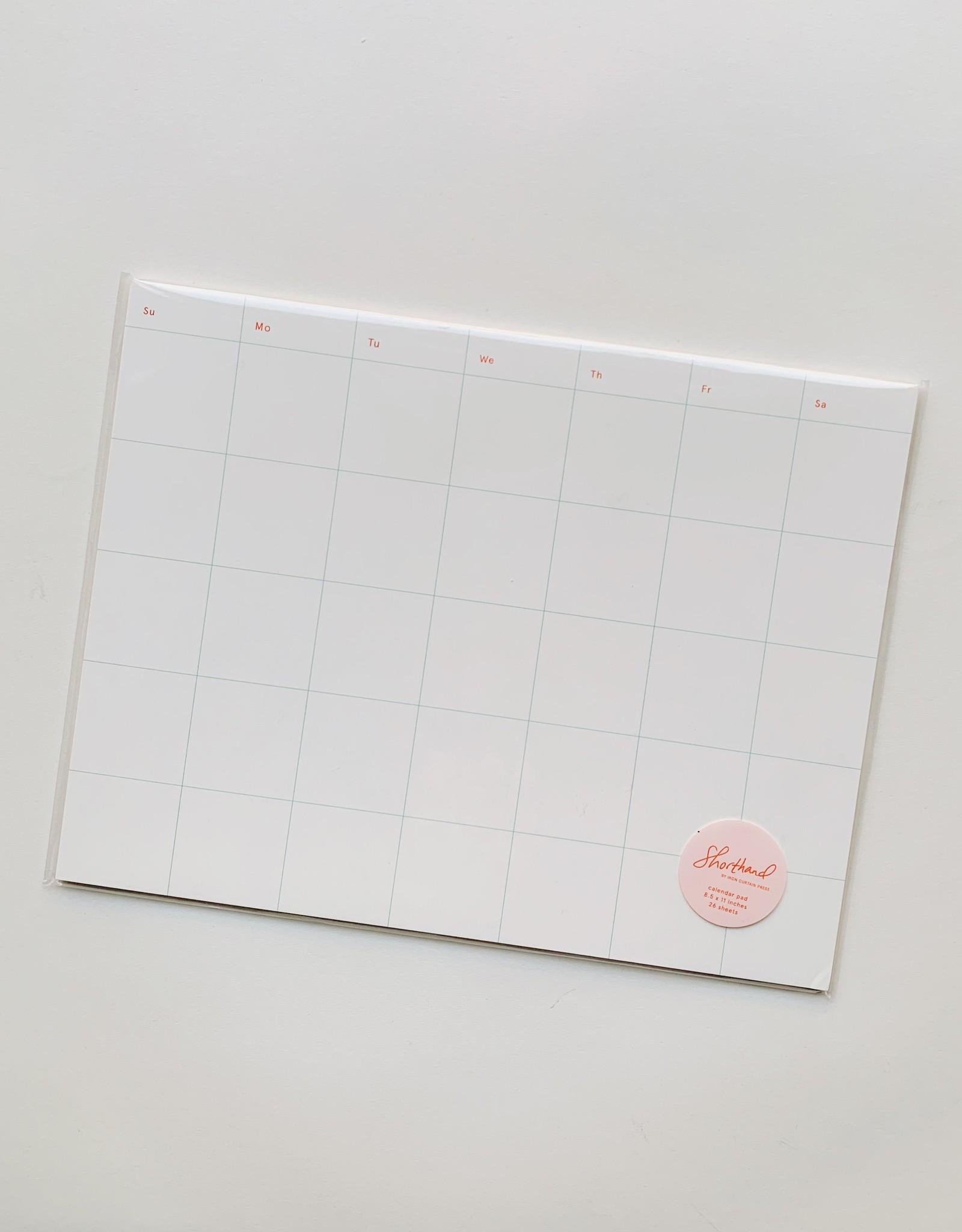 Iron Curtain Press Iron Curtain Press | Calendar Notepad