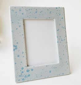 Bloomingville Blue Ceramic Frame 5x7