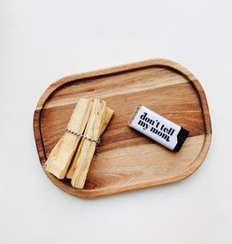 Acacia Wood Platter
