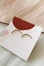 Tumble Tumble | Silver Arch Stud Earrings