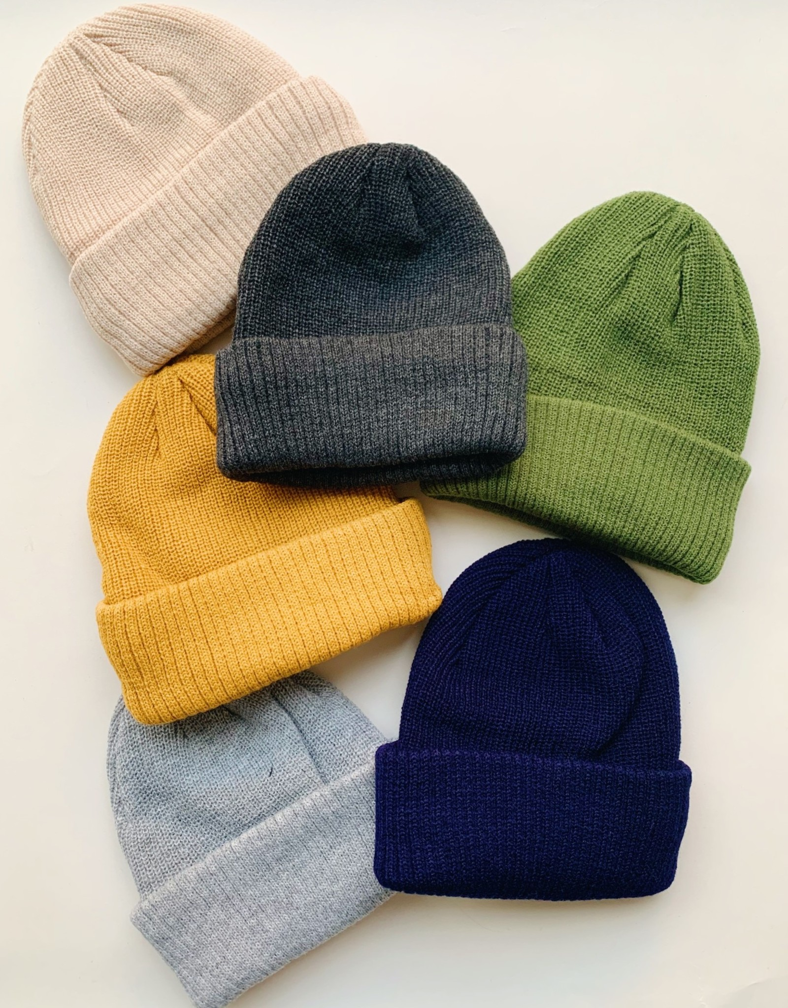 Acrylic Fisherman Beanie Stay Forever