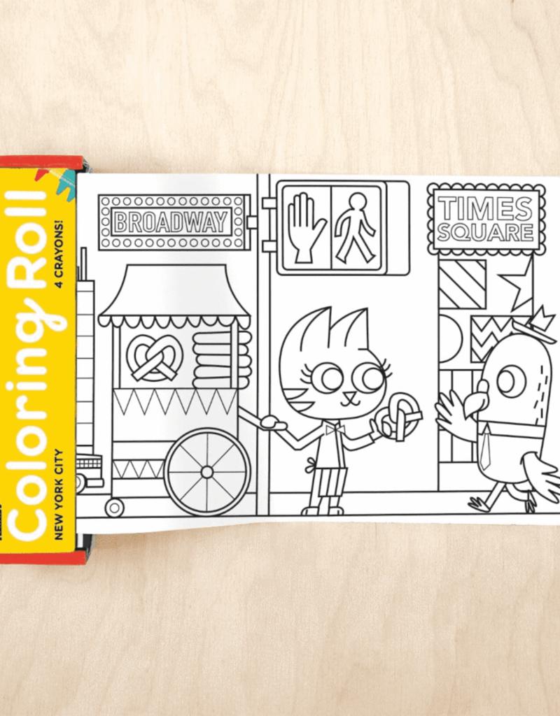 Mudpuppy Mudpuppy Mini Coloring Roll