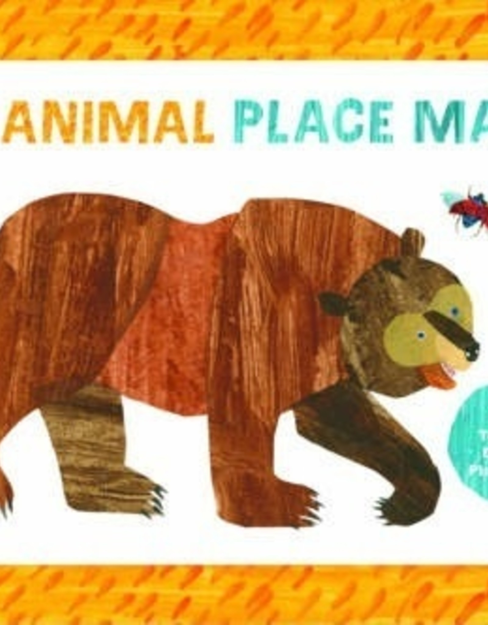 Chronicle Chronicle | Eric Carle Animal Place Mats