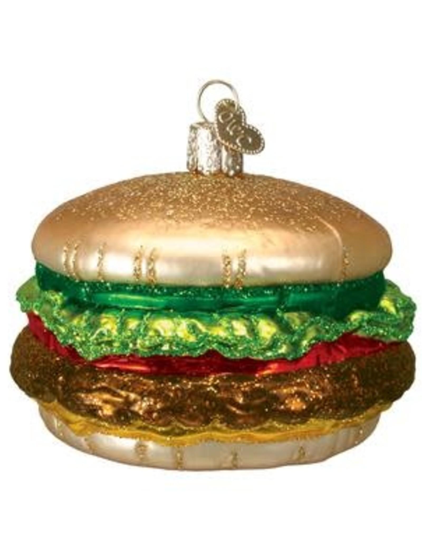 Old World Christmas Old World Christmas | Cheeseburger Ornament