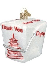 Old World Christmas Old World Christmas   Chinese Takeout Ornament
