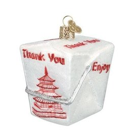 Old World Christmas Chinese Takeout Ornament