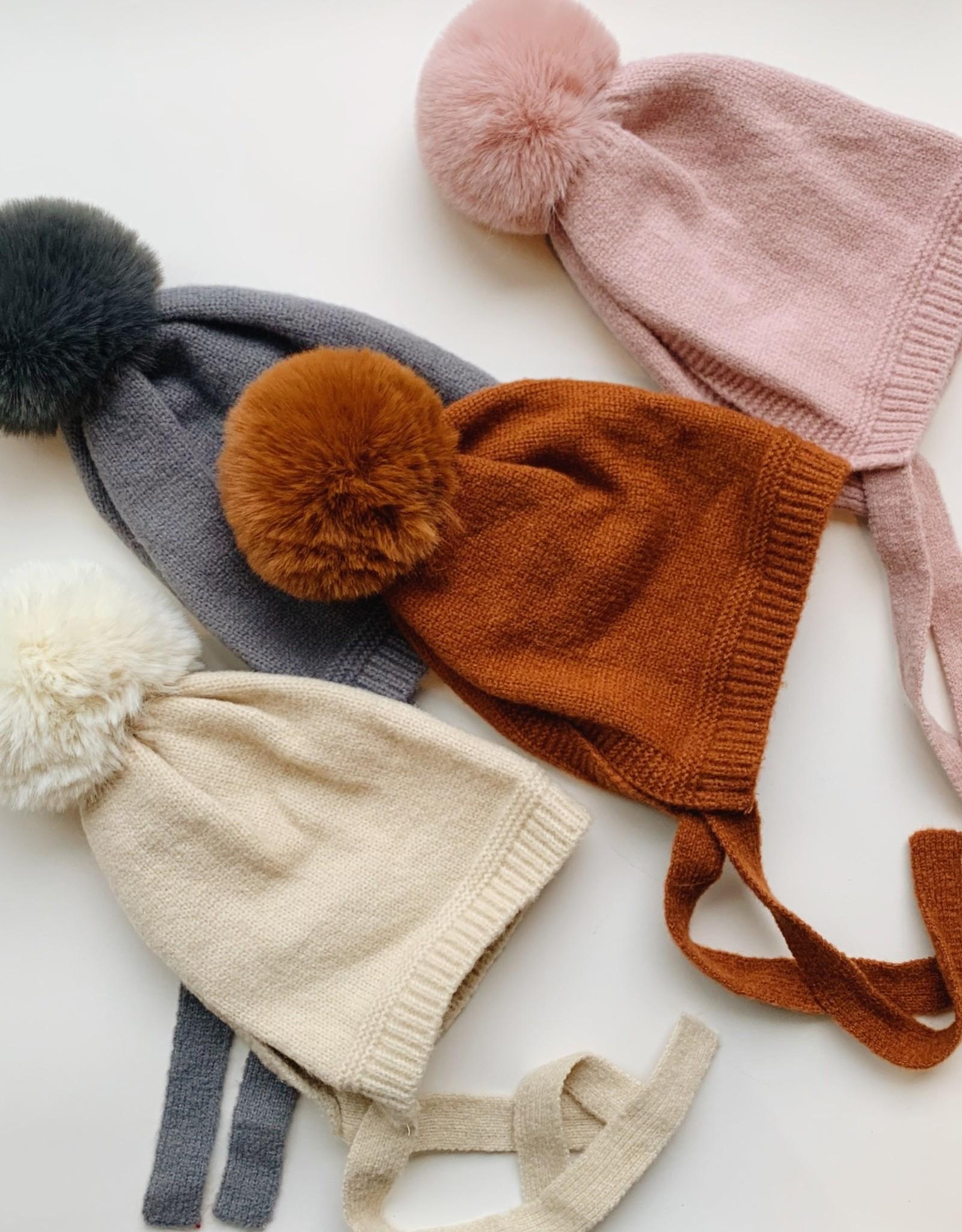 Kid's Acrylic Knit Pixie Hat (1-5Y)