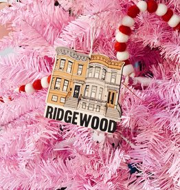 Broderpress PREORDER Ridgewood Rowhouse Ornament