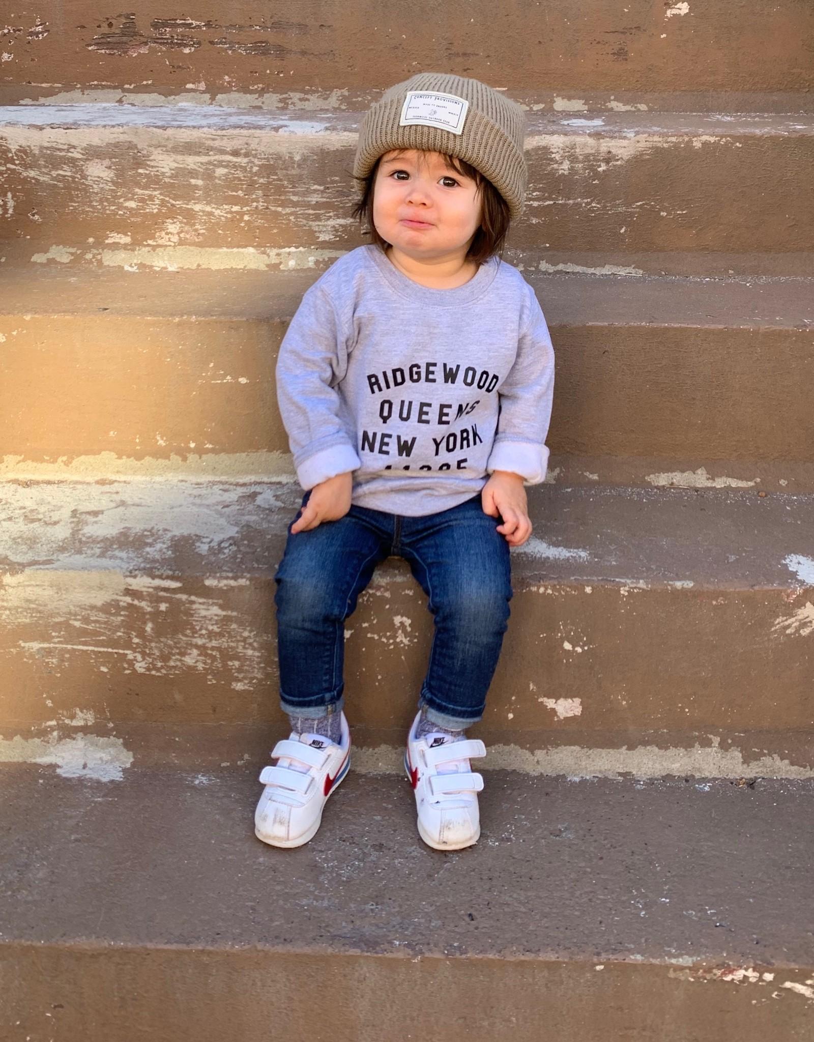 Stay Forever Ridgewood Kids Sweatshirt