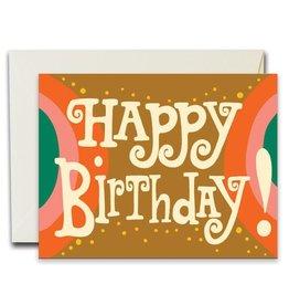 Native Bear Happy Birthday Arches Card