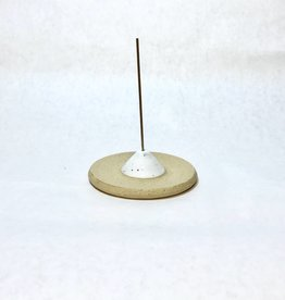 m. bueno Ceramic White Incense Holder