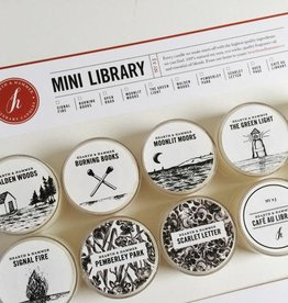 Hearth & Hammer Hearth & Hammer |Mini Library Candle Sampler