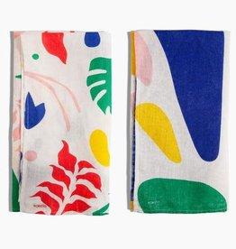 Poketo Linen Tea Towel Set in Multi