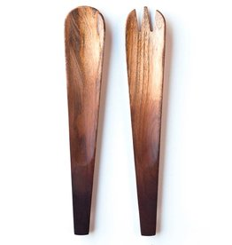 Be Home Ombre Mango Wood Salad Servers
