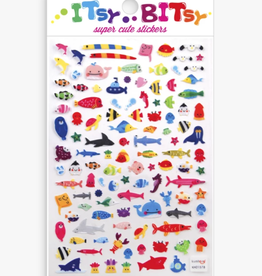 Ooly Itsy Bitsy Stickers: A Little Sea Life