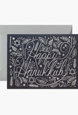 Rifle Paper Co. Rifle Paper| Happy Hanukkah Silver