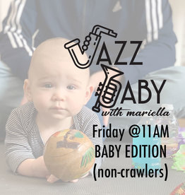 Jazz Baby Jazz Baby| 11AM Friday Baby Class