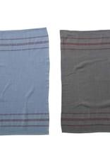 Creative Co-Op Overdyed Striped Tea Towel