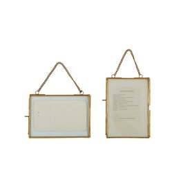 Brass Chained Photo Frame 5x7