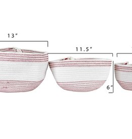 Creative Co-Op Cotton Rope Basket