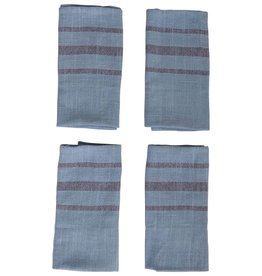 Creative Co-Op Overdyed Cotton Napkins- Set of 4