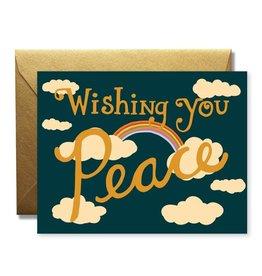 Native Bear Wishing You Peace Card