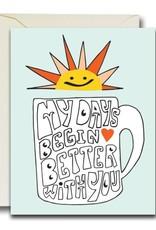 Native Bear Native Bear   Better Days Mug Card