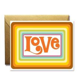 Native Bear Love Card