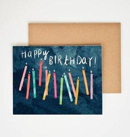 Meera Lee Patel Happy Birthday Candles Card