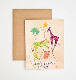 Meera Lee Patel Happy Birthday To You Animals