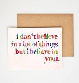 Meera Lee Patel I Believe In You