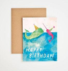 Meera Lee Patel Happy Birthday Whale