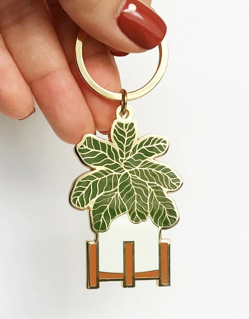 Paper Anchor Co. Paper Anchor Co.| Fiddle Leaf Keychain