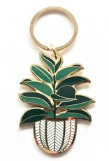 Paper Anchor Co. Paper Anchor Co.  Rubber Tree Keychain