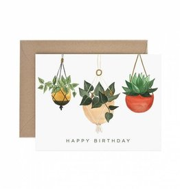 Paper Anchor Co. Hanging Plant Birthday