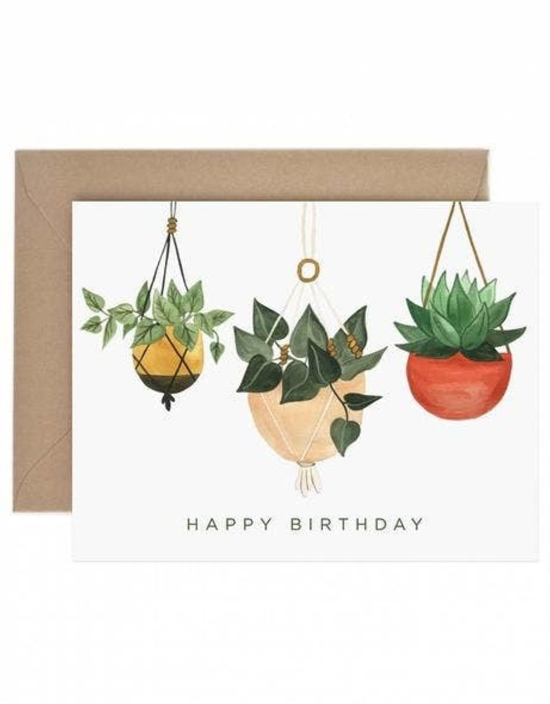 Paper Anchor Co. Paper Anchor Co.| Hanging Plant Birthday
