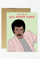 Party Mountain Paper Co Party Mountain Paper Co. | Lionel Richie All Night Long