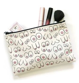 Unblushing Boobs Make Up Pouch