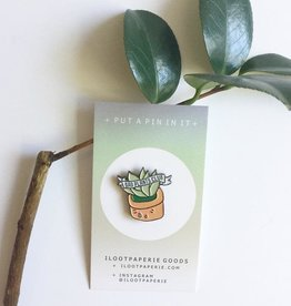 ilootpaperie ilootpaperie| Sad Plants Club Pin