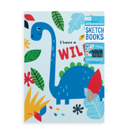 Ooly Dino Days Sketchbooks - Set of 2