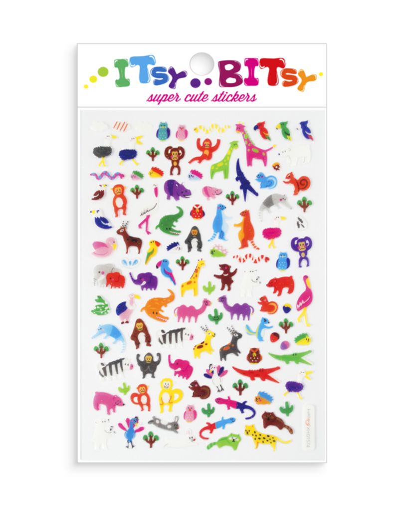 Ooly Ooly | Itsy Bitsy Stickers: Jungle Life