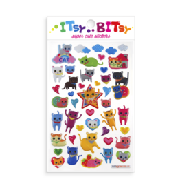 Ooly Itsy Bitsy Stickers: Cat's Eyes