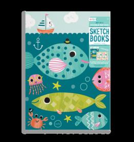 Ooly Friendly Fish Sketchbooks - Set of 2