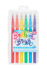 Ooly Ooly | Brilliant Brush Markers - Set of 12