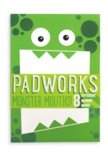 Ooly Ooly |Padworks Notepad - Monster Mouths