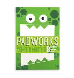 Ooly Padworks Notepad - Monster Mouths