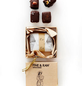 Fine & Raw Fine & Raw | 4 piece Mixed Truffle Box